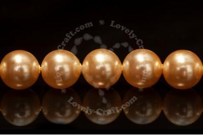 Жемчуг Swarovski круглый 6 мм (Light Gold #539)