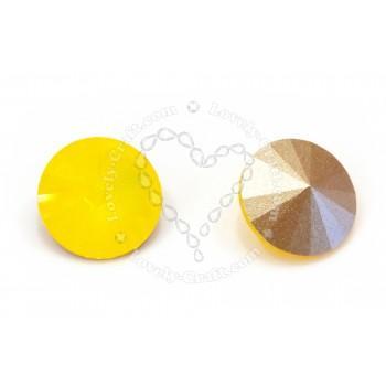 Купить компонент Swarovski риволи 12 мм - Yellow Opal (#231) в интернет-магазине «Любимое Творчество»