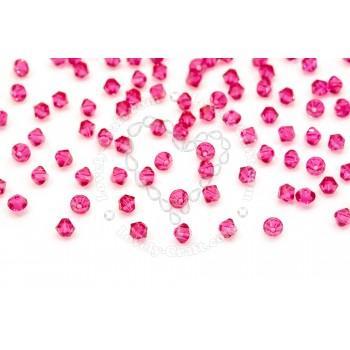 Купить Бусины Swarovski Биконусы XILION 5328 (Fuchsia #502) - 4 мм в интернет-магазине «Любимое Творчество»