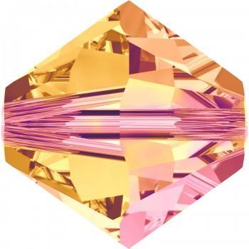 Купить Бусины Swarovski Биконусы XILION 5328 (Crystal Astral Pink #001 API) - 6 мм в интернет-магазине «Любимое Творчество»