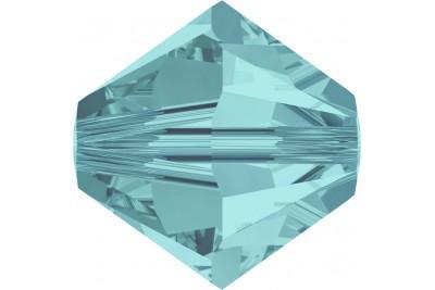 Биконусы XILION 6 мм - Light Turquoise (#263)
