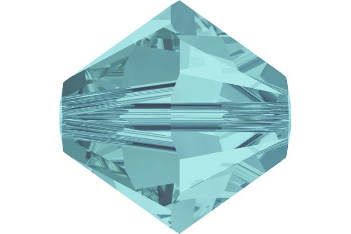 Купить Бусины Swarovski Биконусы XILION 5328 (Light Turquoise #263) - 6 мм в интернет-магазине «Любимое Творчество»
